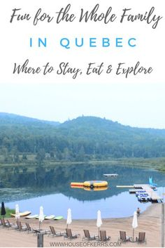 Fun for the Whole Family in Québec - Where to Stay, Eat & Explore | #familytravel #explorecanada | all-inclusive resorts Canada | Unique travel experiences with kids | Lanaudiere & Laval Quebec with kids tweens toddlers | best places in Canada for family travel