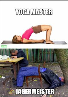 Yoga Poses Nailed by Drunk People - Mix Ping
