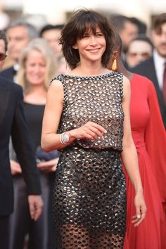 Sophie Marceau in Chanel