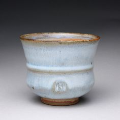 handmade ceramic cup tumbler yunomi teacup with by rmoralespottery