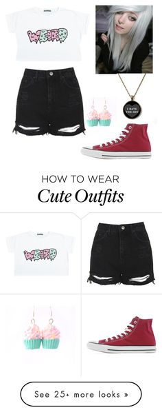 """""""Outfit #6"""" by extremelyawesomefangirl on Polyvore featuring Topshop and…"""