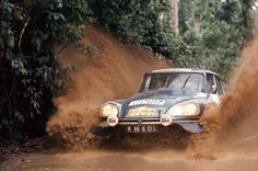 http://chicerman.com  carsthatnevermadeit:  Citroën DS Rally cars.The DS was successful in rallyingwinning the Monte Carlo Rally in 1959 and the 1000 Lakes Rallyin 1962. The DS won the Monte Carlo Rally again in 1965 with some controversy as the BMC Mini-Cooper team was disqualified due to rule infractions. The DS remained competitive winning the gruelling 1974 London-Sahara-Munich World Cup Rally where it won over 70 other cars only 5 of which completed the entire event  #cars
