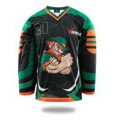 ec285f42c Hot Sales Product Ireland Design Ice Hockey Jersey