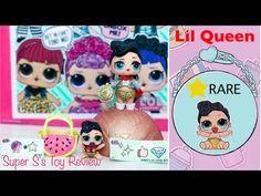 LOL Surprise Dolls THE QUEEN vs TROUBLE MAKER Series 2 Australia - Super S's Toy Review - YouTube