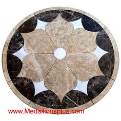 Medallions Plus provides specialty stone products like floor medallions made of marble, travertine, tile and more. Entryway Flooring, Entryway Decor, Exterior Tiles, Marble Floor, Marble Mosaic, Stone Flooring, Flooring Ideas, Flora, Mosaic Floors