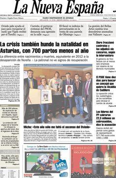 Los Titulares y Portadas de Noticias Destacadas Españolas del 19 de Junio de 2013 del Diario La Nueva España ¿Que le parecio esta Portada de este Diario Español?