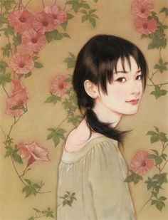 Chen-Shu-Fen art - most of her work is clearly just a barely treated photo, but this one is very different and lovely.