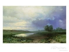 Wet Meadow, 1872 Giclee Print by Fedor Aleksandrovich Vasiliev at AllPosters.com
