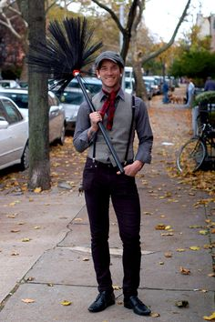 #halloween #costume ideas: Bert the chimney sweeper from Mary Poppins