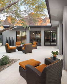 modern patio by Carson Poetzl, Inc.