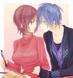 Meiko and Kaito just too sweet!!!