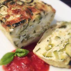 Pain de courgettes et coulis de tomate crue (cuisson Omnicuiseur)