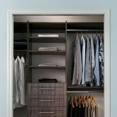 Custom Closets – Storage, STOR-X Organizing Systems, bedroom storage systems.