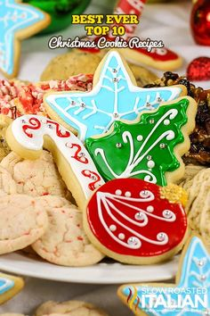 Best Ever Top 10 Christmas Cookie Recipes