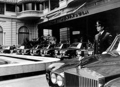 Rolls-Royce Silver Shadow fleet the peninsula hotel Hong Kong 1970's