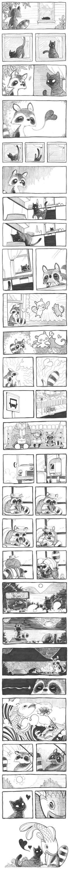 29 ideas cats humor cartoon comic for 2019 Comic Manga, Comic Art, Cute Stories, Short Stories, Rage Comic, Funny Animals, Cute Animals, Mini Comic, Comics Story