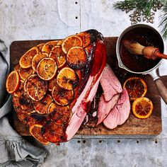 Orange, Maple & Thyme Glazed Ham
