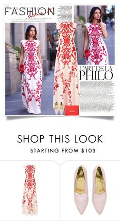 """Vivaluxury: The Fine Print"" by nora-nazeer ❤ liked on Polyvore featuring Ted Baker"