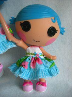 Lalaloopsy  Littles - Little Sister Dress - Island Vacation. $8.00, via Etsy.