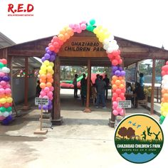 Are you ready to have some fun with your #kids? #GhaziabadChildrenPark features #fun activities including giant bouncy castles, ball & balloon pools, wood sliders, and wire rope bridge, Square and round tunnels. Just register with us giving your contact detail & you will be allowed to enter and enjoy all activities. #REDMALL