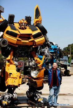If you've got a transformer lover in your house; or if you're a transformer lover here's something for you!