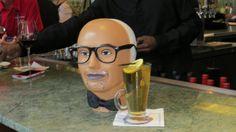 Hahaha! Fred's Bow Tie having a drink :)  #IVCONV14 #CONV14