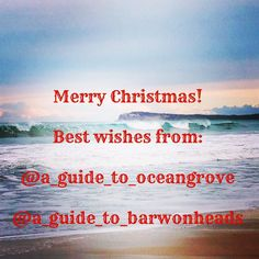 Morning & Merry Christmas  Best wishes for a great day   Thank you so much for supporting my new pages @a_guide_to_barwonheads @a_guide_to_oceangrove   We support and promote small business the community and natural beauty   #blessed #grateful #insight #christmas  #aguideto #aguidetobarwonheads #smallbusiness #shoplocal #livelovelocal  #photography #ocean #beach #surf #fun #amazing #art #summer  #barwonheads #oceangrove #bellarine #bellarinepeninsula #gtown #geelong #melbourne #visitvictoria…