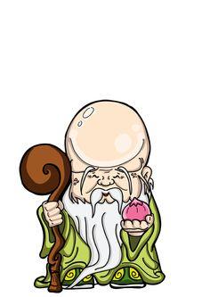 長生大帝 - Changsheng da di Chinese Cartoon, Japanese Cartoon, China Painting, Stone Painting, Chinese Culture, Chinese Art, Buddha Tattoo Design, Folk Religion, Buddhists