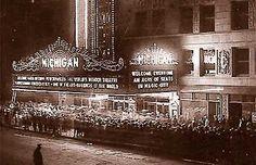 The Michigan Theater. Jackson, MI