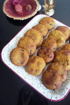 Jagruti's Cooking Odyssey: Gujrati Bajri Na Vada - Gujarati style Millet Flour Pakora