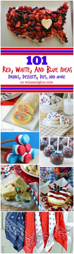 101 Fourth of July Ideas! Crafts, recipes, and more!