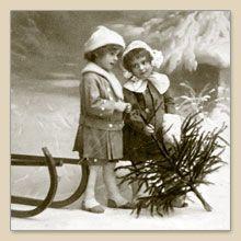 Serwetka do decoupage Christmas Girls Serwetki do decoupage - sklep Decoupage Art.pl