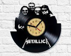 Vinyl Clock - Metallica