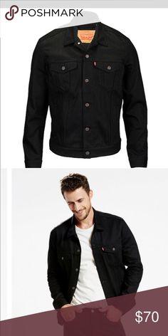 Levi's Black Denim Jacket Brand new, unworn Levi's Denim jacket. Size XL fits between a L and XL. Great versatile jacket. levis Jackets & Coats