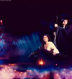 The Phantom of the Opera. This picture is just too beautiful. I really hope I get to see it performed one day