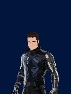 Bucky super suit iPhone Case
