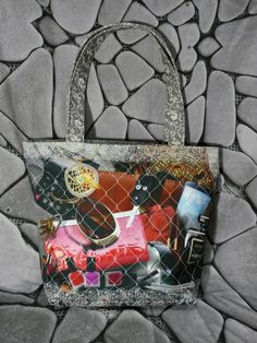 New design from Flirty Poodle. Order online at www.flirtypoodle.com News Design, Poodle, Gucci, Shoulder Bag, Tote Bag, Canvas, Bags, Fashion, Handbags