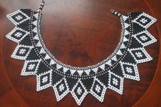 Ngobe Bugle chaquira necklace