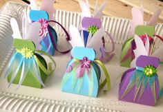 Fairy Favor Boxes by FolliesandVices on Etsy