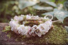 Newborn Flower Crown, Newborn Halo, Newborn Photo Prop, Newborn Headband…