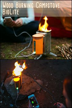 A lightweight backpacking stove and an off-grid power charger... Could you use one on your next camping trip?