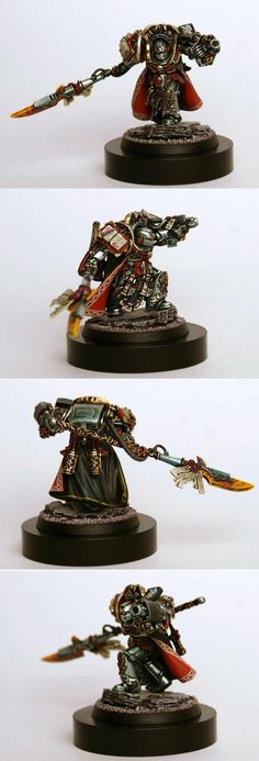 Deamonhunters, Grandmaster, Grey Knights, Inquisition, Terminator Armor