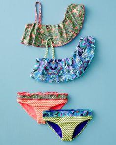 Flutter-Sleeve Bikini by Maaji - Baby Girls & Girls