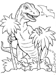 Dinosaur Coloring Pages for Kids. 50 Free Printable Dinosaur Coloring Pages for Kids. Dinosaur Coloring Pages English Esl Worksheets for Coloring Sheets For Boys, Dinosaur Coloring Sheets, Coloring For Kids, Fairy Coloring, Free Kids Coloring Pages, Coloring Pictures For Kids, Alphabet Coloring, Coloring Stuff, Mandala Coloring