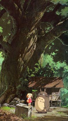 Studio ghibli,my neighbor totoro,hayao miyazaki Illustration Studio, Japon Illustration, Studio Ghibli Art, Studio Ghibli Movies, Hayao Miyazaki, Film Animation Japonais, Reborn Anime, Personajes Studio Ghibli, Studio Ghibli Background