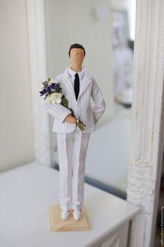 Купить Портретная ретро пара в стиле тильда. - свадьба, кукла, куклы, тильда, тильды, тильдочки