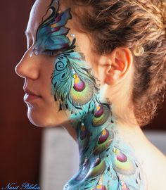Peacock eye design - Nurit Pilchin