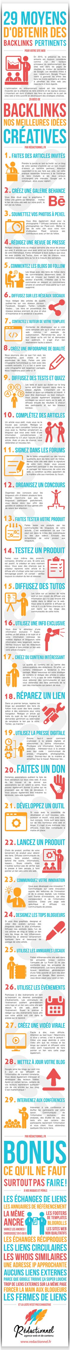 29 moyens d'obtenir des backlinks. by abondance.com