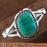 Navajo Kings Manassa Turquoise and Silver Bracelet