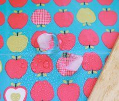 Laminated Scandinavian Style Vivid Apples Pattern by luckyshop0228, $19.75